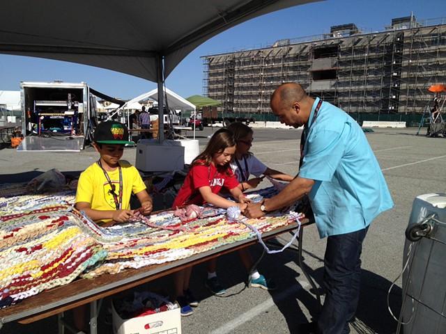 Crochet Jam, Maker Fair