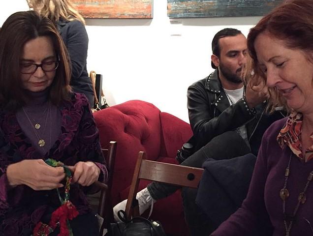 Crochet Jam, Red Poppy Art House, San Francisco