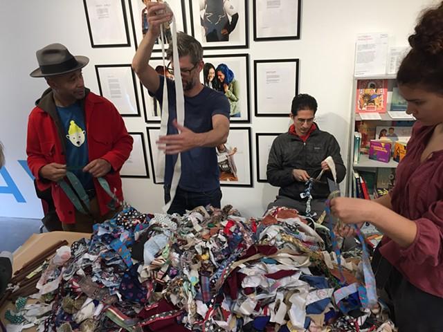Crochet Jam at Minnesota Street Projects