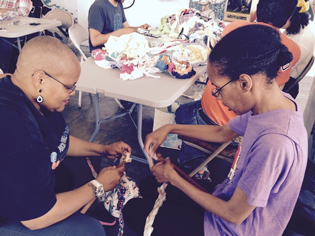 Crochet Jam, Rock Paper Scissors Collective, Oakland, California