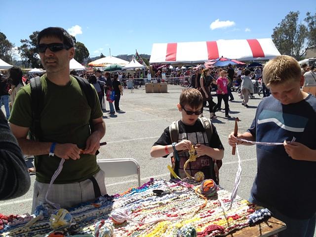 Crochet Jam, Make Faire