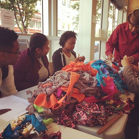 Crochet Jam at the Museum of African Diaspora (MoAD) San Francisco