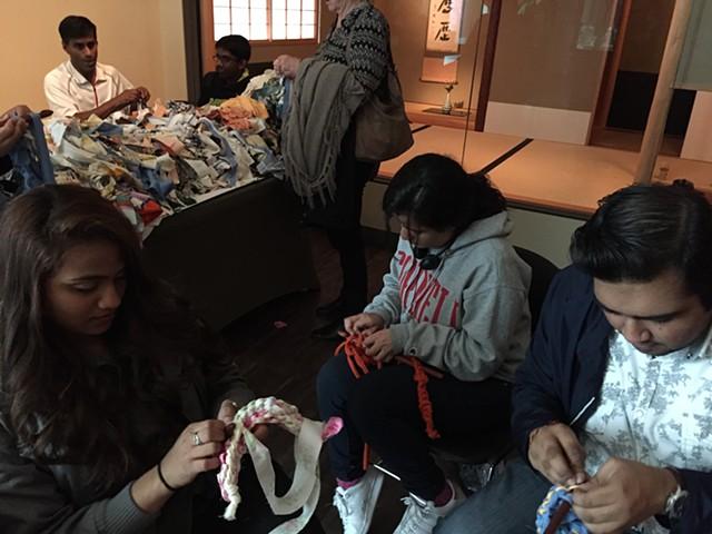 Crochet Jam, Asian Art Museum, 50th Anniversary Celebration