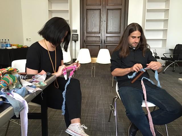 Crochet Jam, San Francisco Arts Commission Gallery 2016