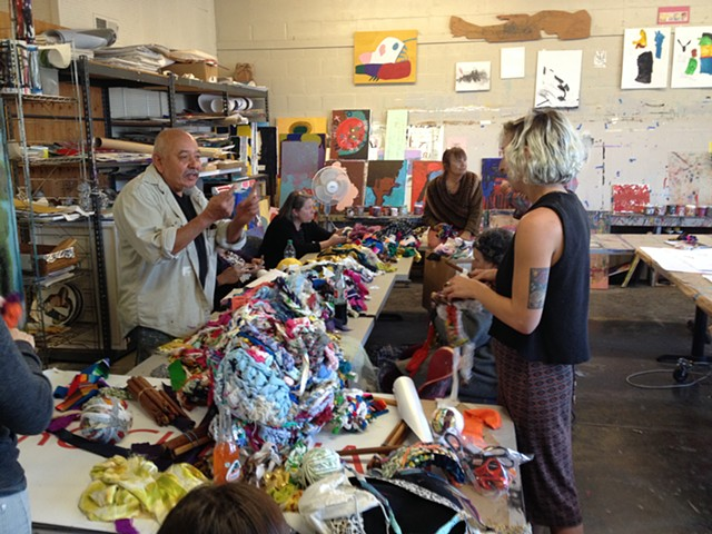 Crochet Jam, NIAD Art Center