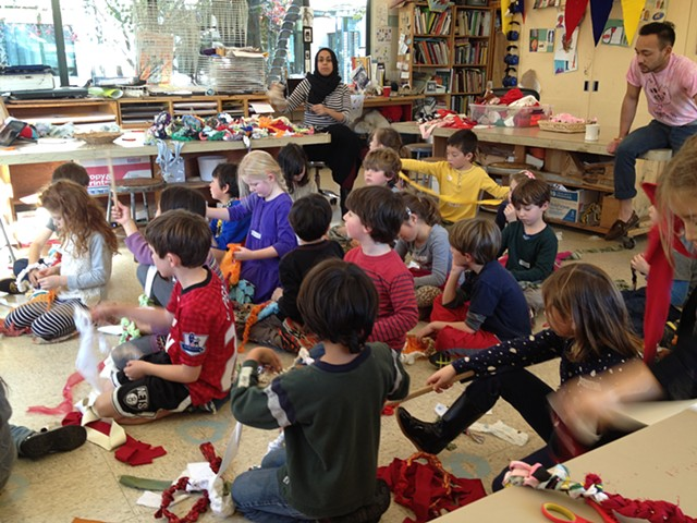 Crochet Jam, San Francisco Day School