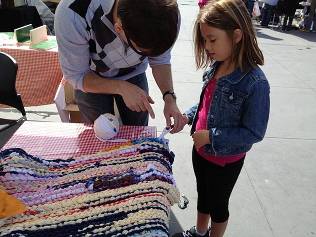 Crochet Jam at the Exploratorium San Francisco