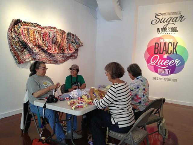 Crochet Jam at AAACC San Francisco