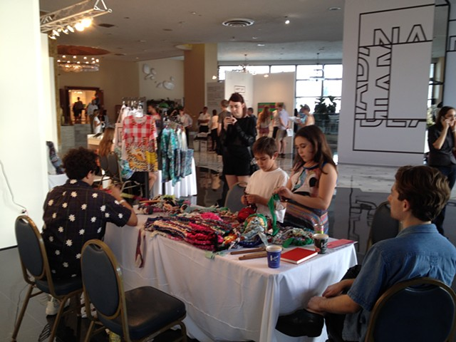 Crochet Jam, NADA MiamiBeach, sponsored by ARTADIA  2014