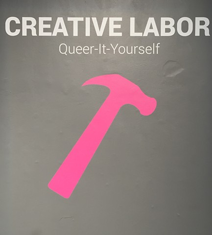 "2016 National Queer Arts Festival, ""Creative Labor: Queer-It-Yourself (QIY) Expo and Faire, SOMArts, San Francisco"