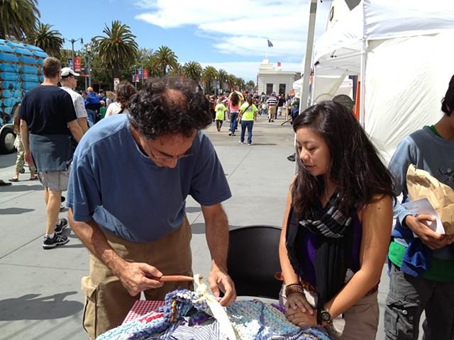 Crochet Jam at the Exploratorium