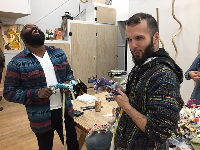 Crochet Jam, Get High on Mountains: Artist & Creative Space, SF 2017