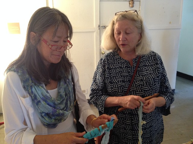 Crochet Jam, Three Point Nine Collective Artists, Hunters Point Shipyards 2014