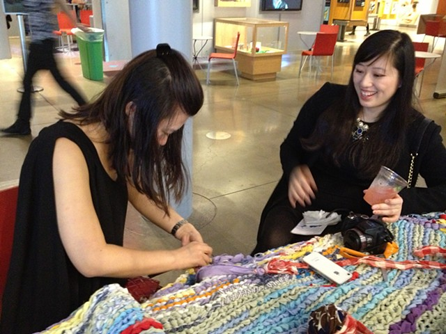 Crochet Jam at California Academy of Science's NightLife