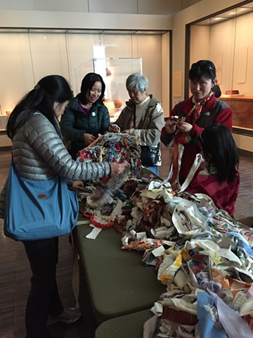 Crochet Jam, Asian Art Museum, 50th Anniversary Celebration