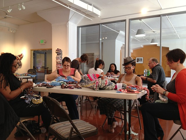 Crochet Jam at AAACC San Francisco