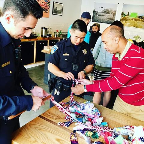 Crochet Jam, Get High On Mountains: Artists & Creative Space, San Francisco