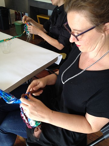 Crochet Jam, Root Division, San Francisco  with Amy Cancelmo