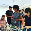 Crochet Jam: Artists Live Here: Temporary Site-Specific Projects, Pro Arts, Frank H. Ogawa Plaza, Oakland, California