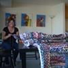 STITCH, a weekly ongoing,  community-based sewing bee to support The Spirit Tapestry Project