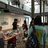 Crochet Jam, Minnesota Street Project, Community Event, San Francisco