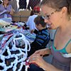 Crochet Jam, Maker Faire, Bay Area