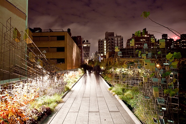 Shadows on the Highline