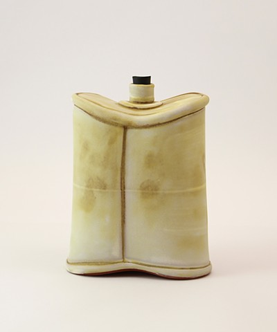 Soft Yellow Flask