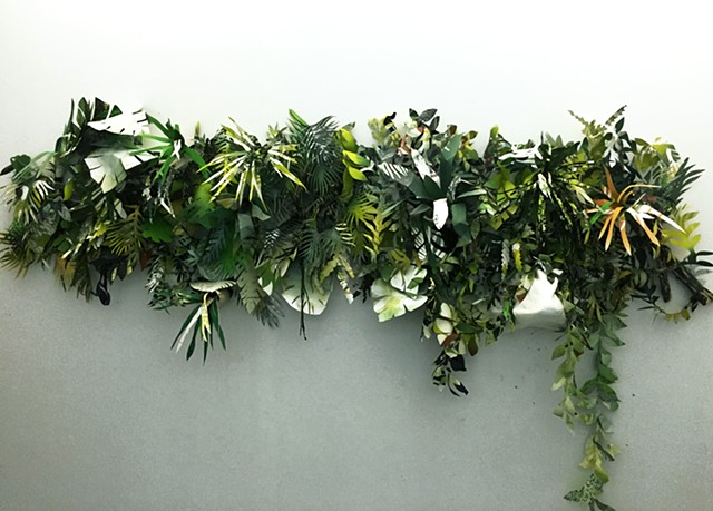 Living Wall Paper Plants