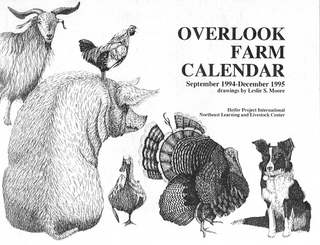 Overlook Farm Calendar Heifer Project International Northeast Learning and Livestock Center Rutland, Massachusetts