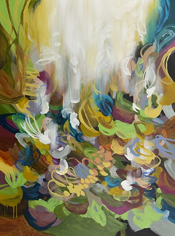 contemporary abstract painting by Cat Tesla