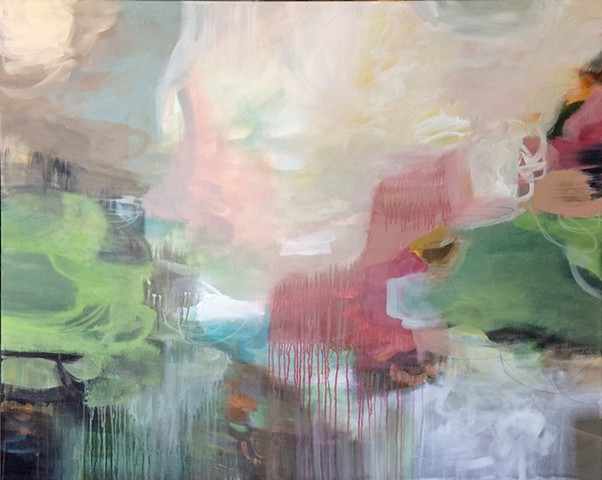 contemporary abstract painting
