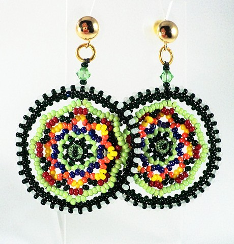 Pendant Penchant earrings
