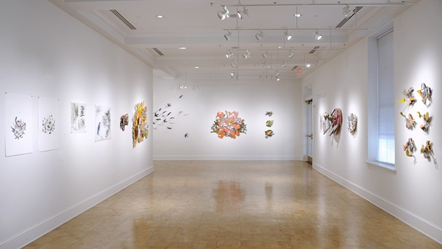 In Conversation:  Where Drawing & Sculpture Meet Susan Hostetler & Jean Sausele-Knodt   Angie Newman Johnson Gallery Episcopal High School Alexandria, Virginia