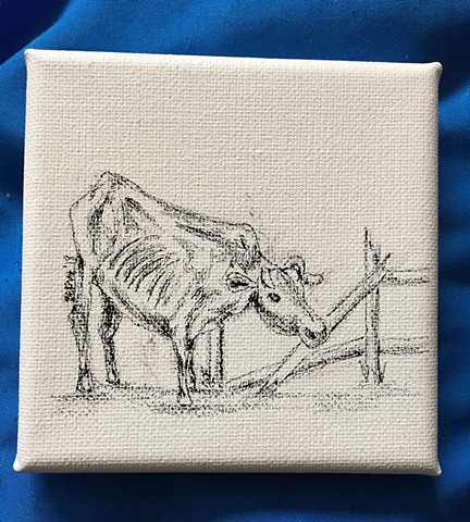 "Tiny canvas: ""Scalawag"""