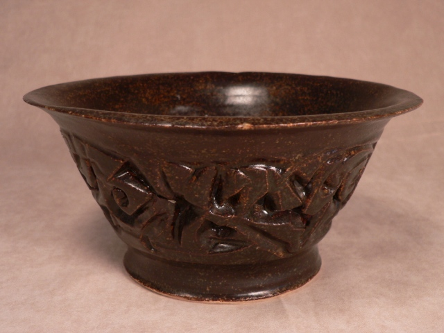 """Carved bowl""-SOLD"