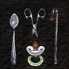 Swizzle Scissors Spoon Binky