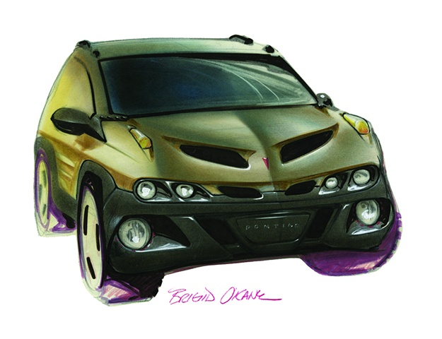 Aztek Concept Rendering Brown Front View