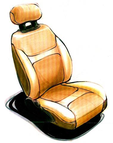 Saturn S-Series Seat Concept