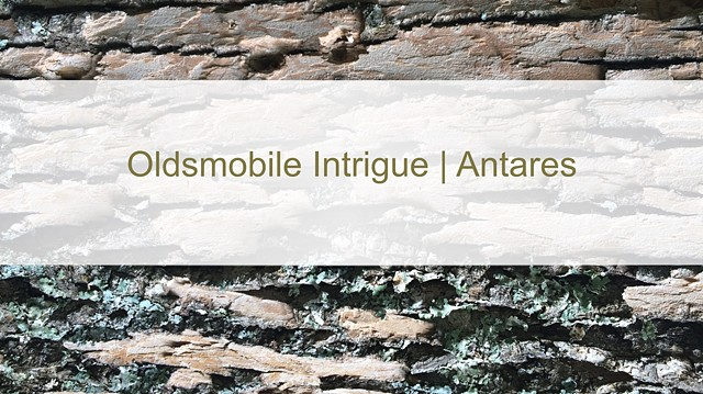 Oldsmobile Intrigue | Antares