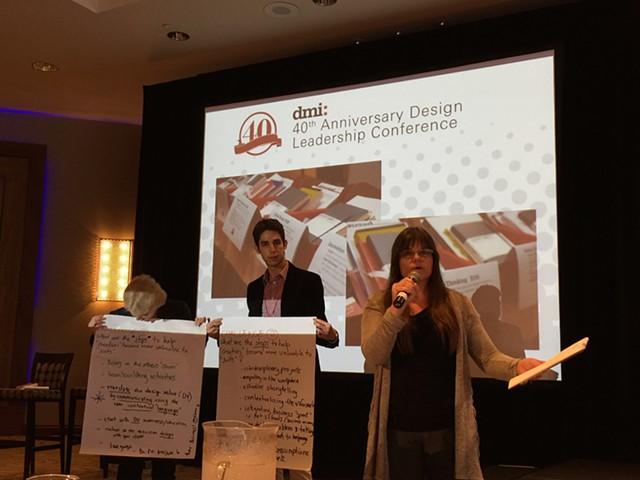 Presentation at DMI Conference 2015