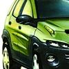 Aztek Concept Rendering Lime Green  Front View