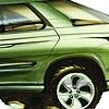 Aztek Concept Rendering  Green Side View  Wagon Inspired