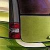 Cadillac Escalade Concept Rendering Green Rear 3/4 View