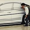 Oldsmobile Antares Full Size Tape Drawing In Progress