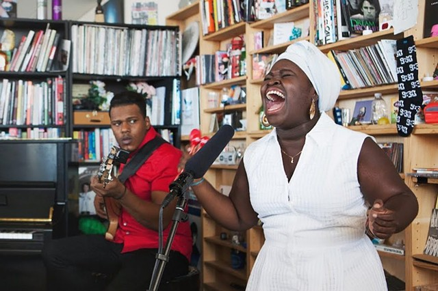 Dayme Arocena - Tiny Desk Concert at NPR