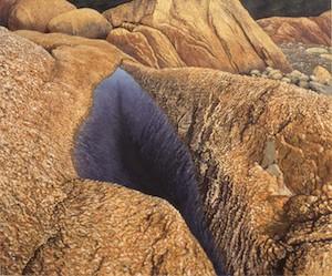 Vaino Kola painting oil on canvas Deep Pool, Deer Isle Turtle Gallery Maine