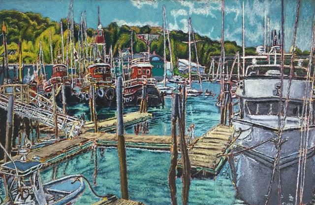 Jeff Loxterkamp, The Turtle Gallery, Deer Isle, Maine, artist, art, paitings, Stonington, Blue Hill, Bar Harbor