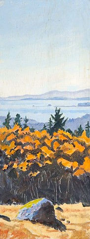 Larry Moffet, artist, Turtle Gallery, Deer Isle, Maine, Stonington, Blue Hill, Bar Harbor, Ellsworth,