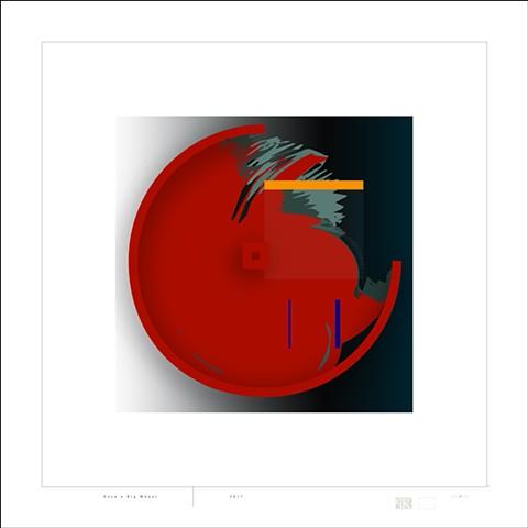 Peter Kemble, digital print, artist, Noren Turtle Gallery, Deer Isle, Maine, Stonington, Blue Hill, Ellsworth, Bar Harbor